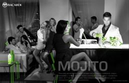 Реклама для Bacardi Mojito